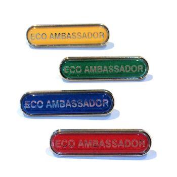 ECO AMBASSADOR bar badge